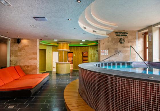 Wellness belépőjegy - Erdőspuszta Club Hotel