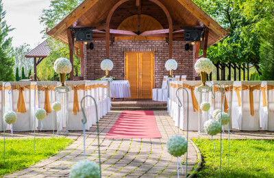 Erdőspuszta Club Hotel - Esküvő - Vendégvárás és szertartás