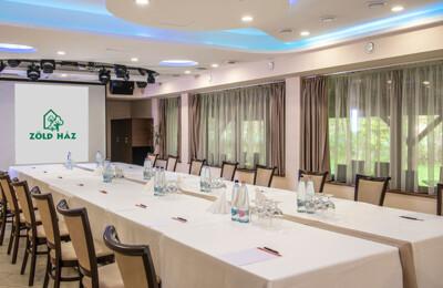 Erdőspuszta Club Hotel - Rendezvények - Termeink - Zöld terem