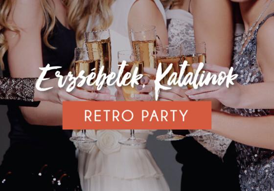Erzsébet-Katalin napi Retro party Csepregi Évával - Erdőspuszta Club Hotel