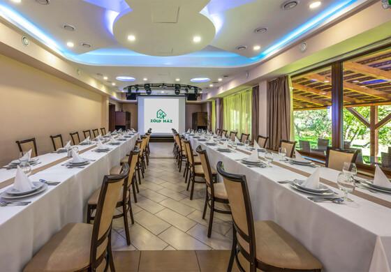 Zöld Terem - Erdőspuszta Club Hotel