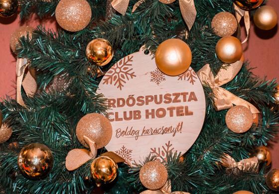 Karácsonyi meghittség Erdőspusztán - Erdőspuszta Club Hotel