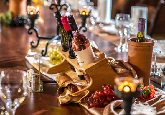 Kvaszinger borvacsora - Erdőspuszta Club Hotel